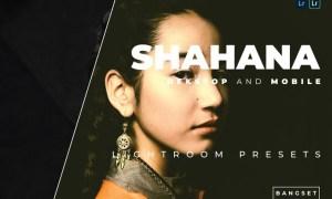 Shahana Desktop and Mobile Lightroom Preset