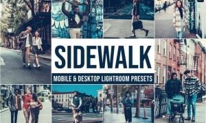 Sidewalk Mobile and Desktop Lightroom Presets