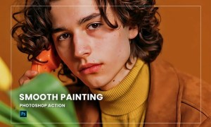 Smooth Painting Photoshop Action