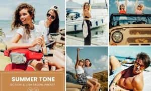 Summer Tone 2 Photoshop Action & Lightrom Presets