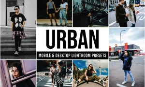 Urban Mobile and Desktop Lightroom Presets