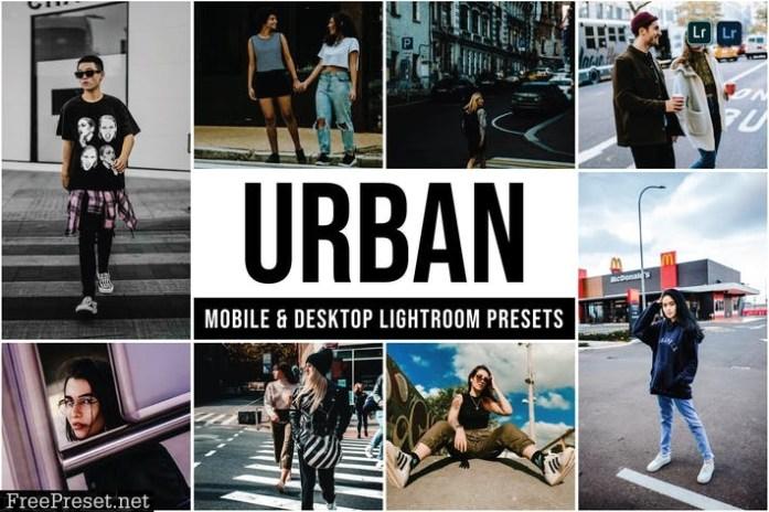 Urban Mobile and Desktop Lightroom Presets