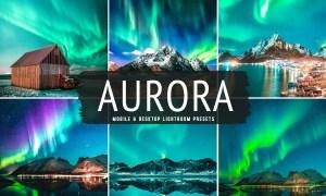 Aurora Mobile & Desktop Lightroom Presets