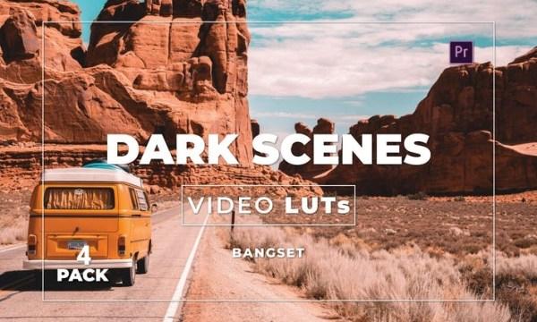 Bangset Dark Scenes Pack 4 Video LUTs