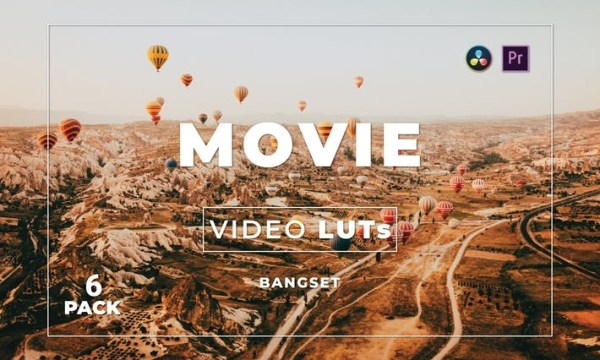 Bangset Movie Pack 6 Video LUTs