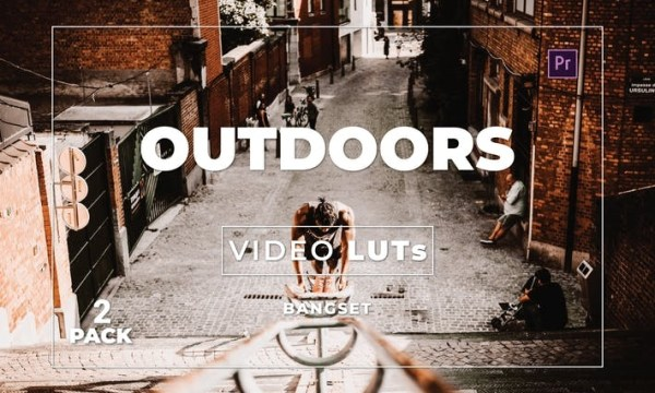 Bangset Outdoors Pack 2 Video LUTs