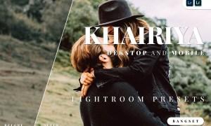 Khairiya Desktop and Mobile Lightroom Preset