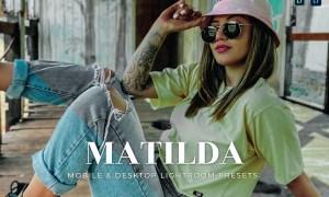 Matilda Mobile and Desktop Lightroom Presets