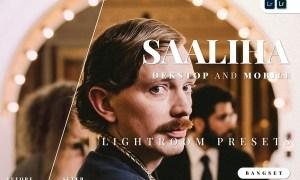 Saaliha Desktop and Mobile Lightroom Preset