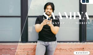 Saamiya Desktop and Mobile Lightroom Preset