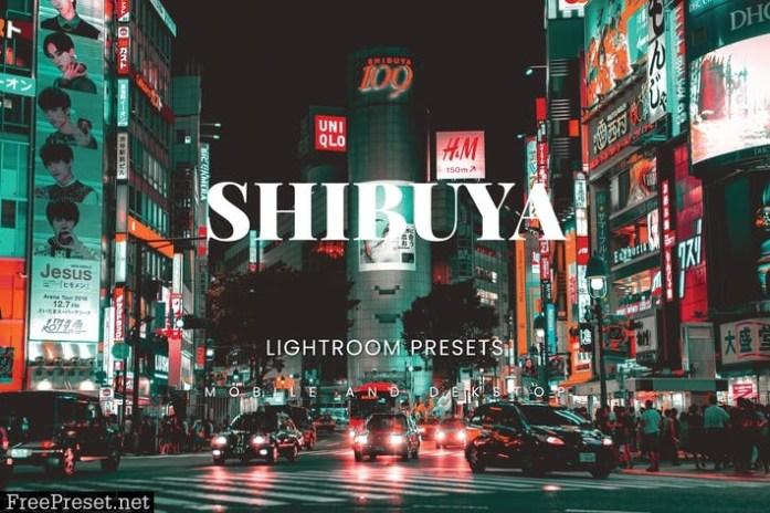 Shibuya Lightroom Presets Dekstop and Mobile