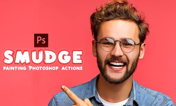 Smudge Photoshop Actions