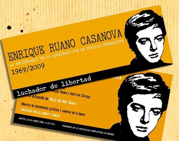 En memoria de Enrique Ruano
