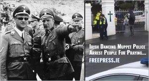 garda arrested-for-praying-police