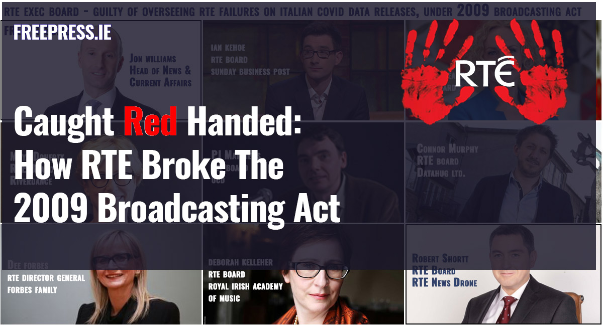 rte covid broke broadcasting act