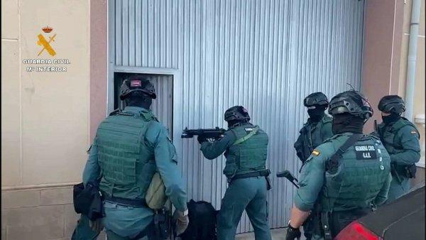 Guardia Civil en Almería