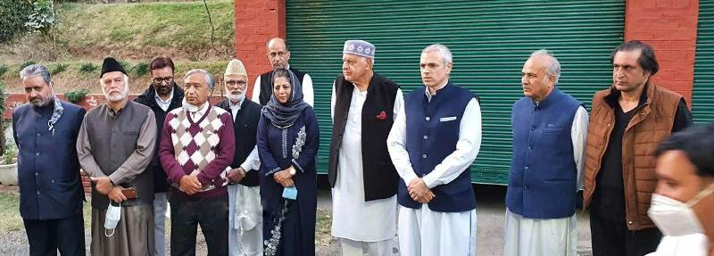 All-party meet names resolution as 'Peoples Alliance for Gupkar  Declaration', vows to 'fight for of pre-August position'   Free Press  Kashmir