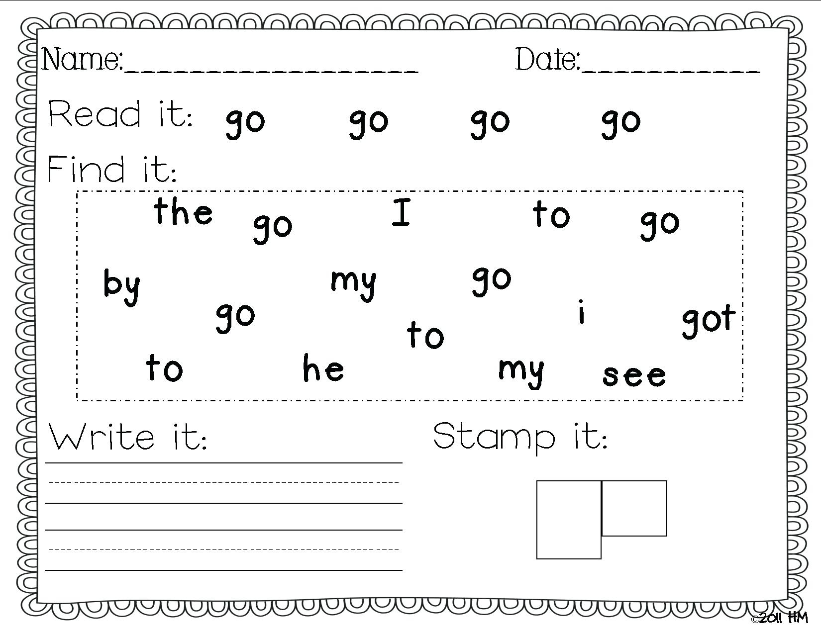 Pre K Writing Worksheets With Alphabet Handwriting