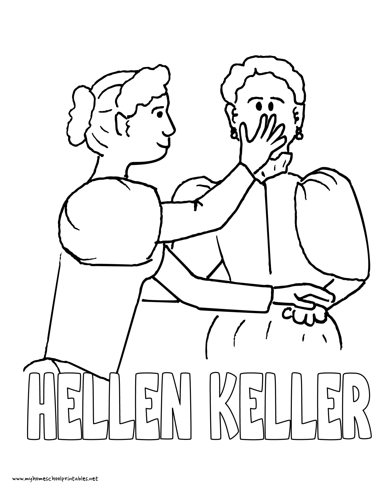 Free Printable Pictures Of Helen Keller