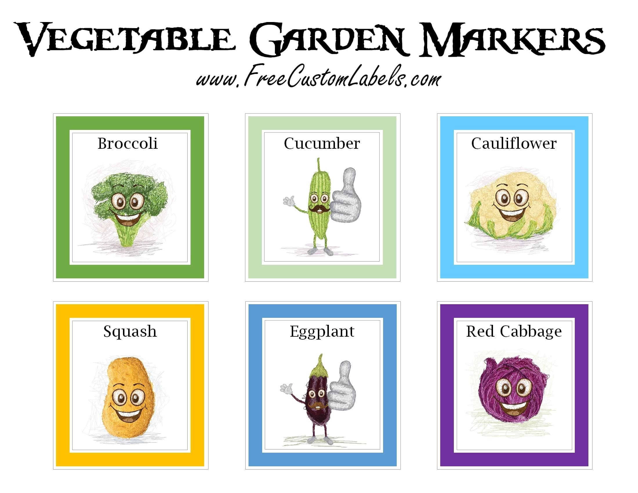 Free Printable Plant Labels