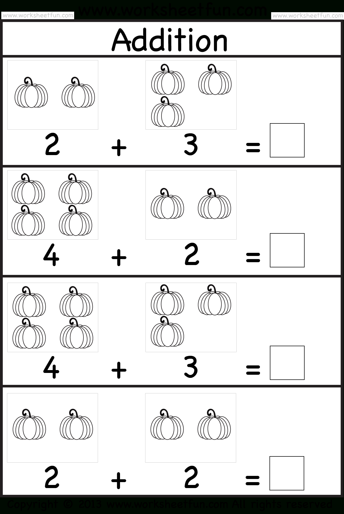 Addition Subtraction Numbers 1 10 Kinder