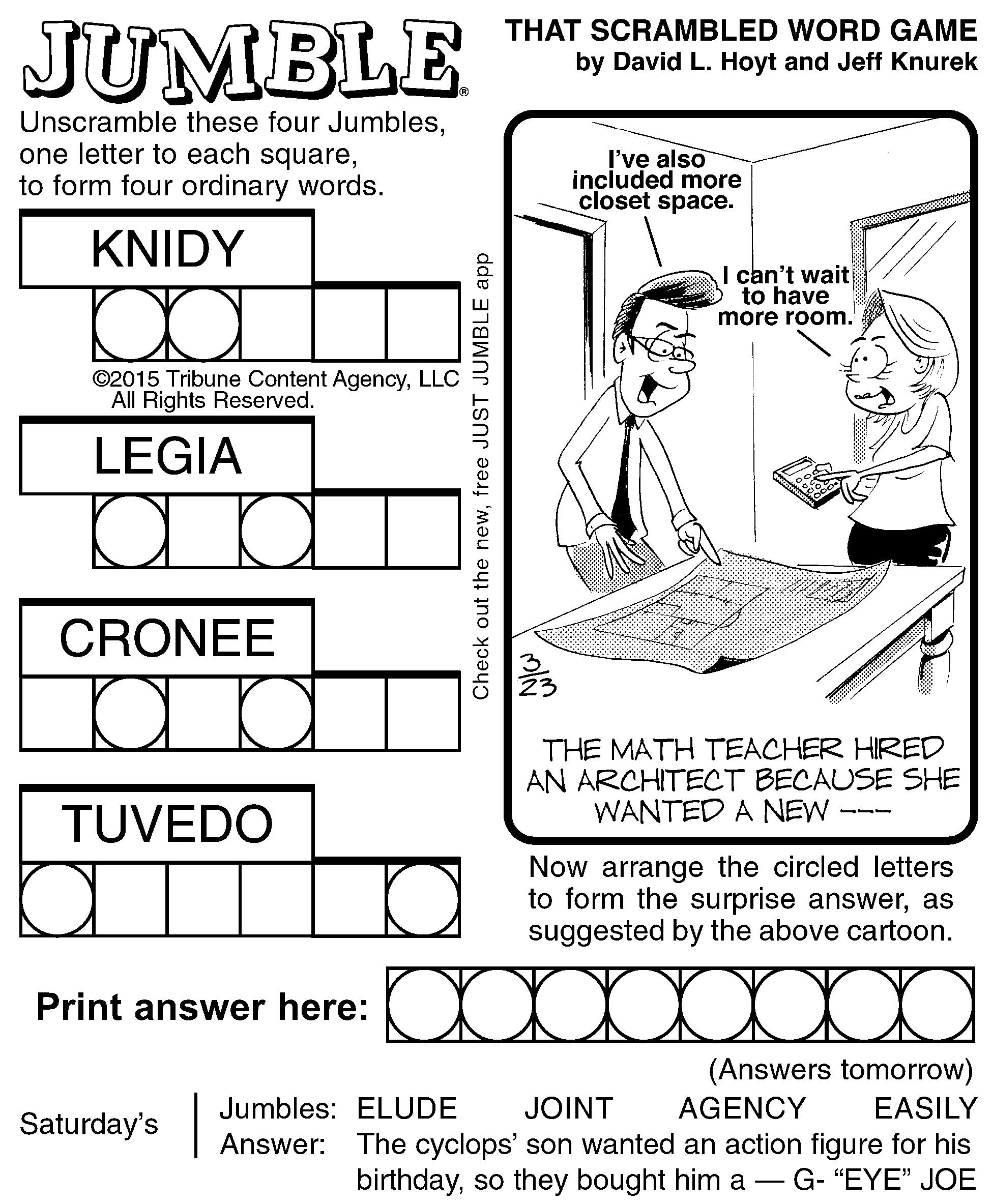Word Scramble Maker