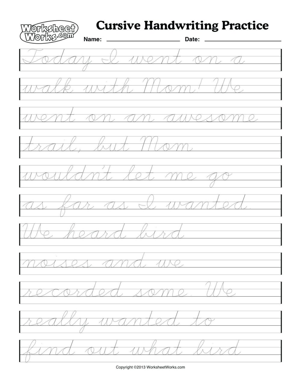 medium resolution of Cursive Writing Worksheets 4th Grade   Printable Worksheets and Activities  for Teachers