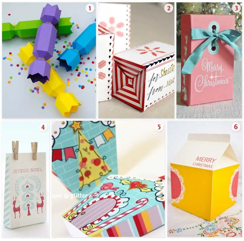 Roundup Of Free Christmas Gift Box Templates To Print