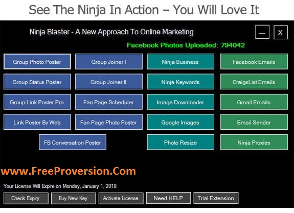 Ninja Blaster 2021 Crack With Serial Key Free Download