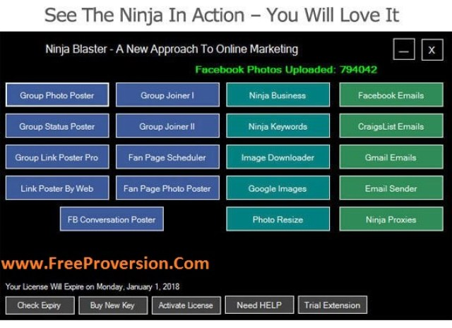 Ninja Blaster 2017 Crack Plus Serial key free download