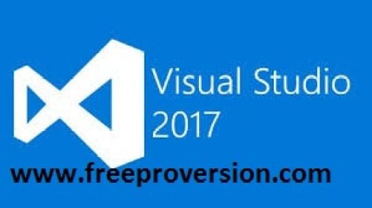 Visual Studio 2017 Crack key product free download