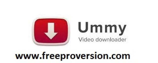 Ummy Video Downloader 1.8.3.3 Crack Plus Keygen Free Download