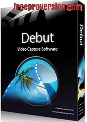 Debut Video Capture 7.37 Crack + Registration Code Free Download