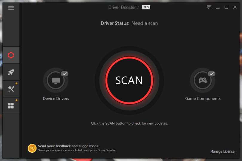 IObit Driver Booster Pro 8.4.0 Crack + Serial Key Free Download