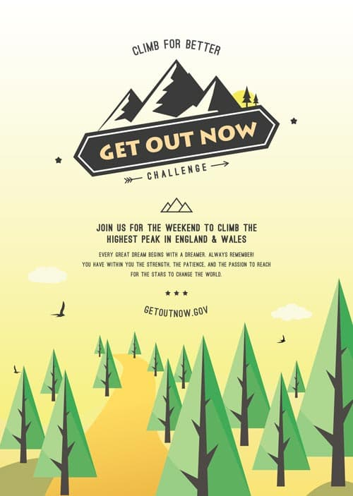 FreePSDFlyer Download The Outdoor Event Poster Free
