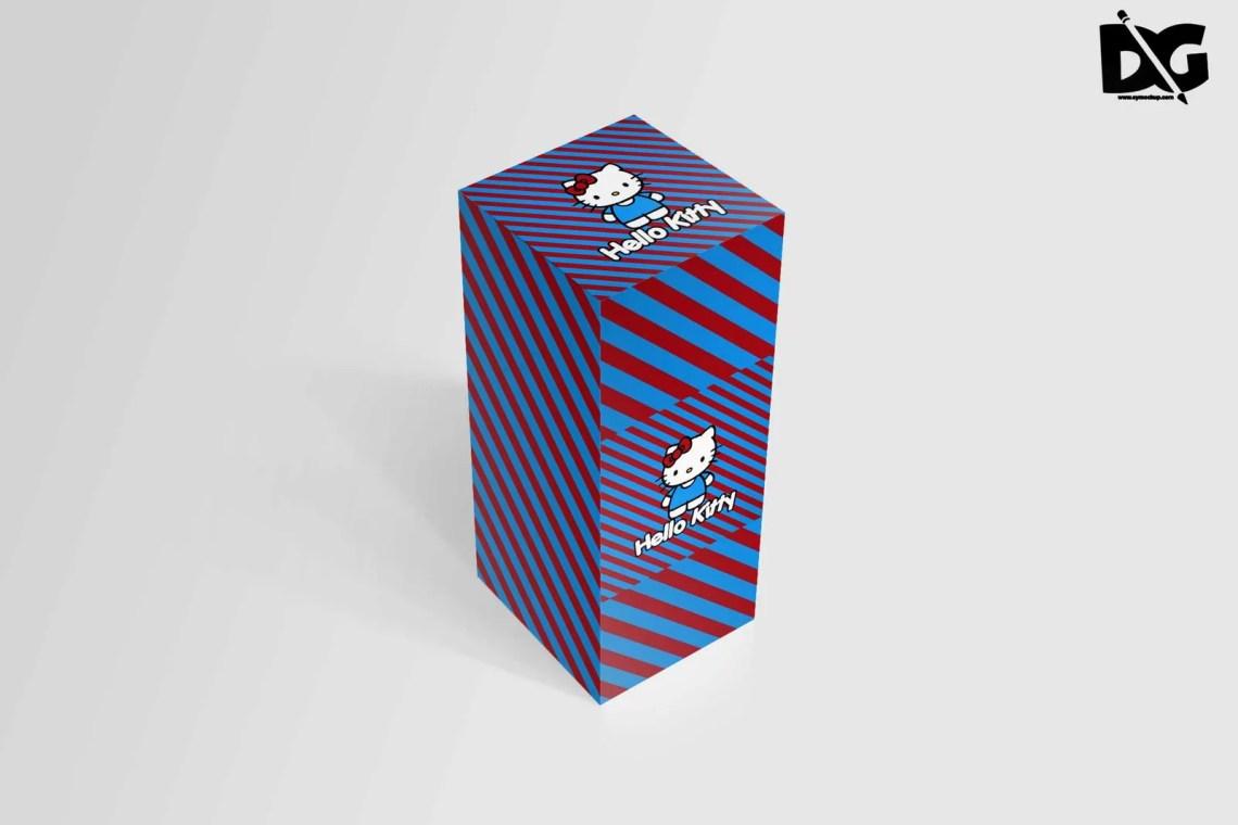 Download Download Free Rectangle Box Design Mockup | Free PSD ...