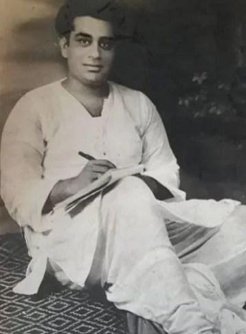 Seema Pahwa's Father