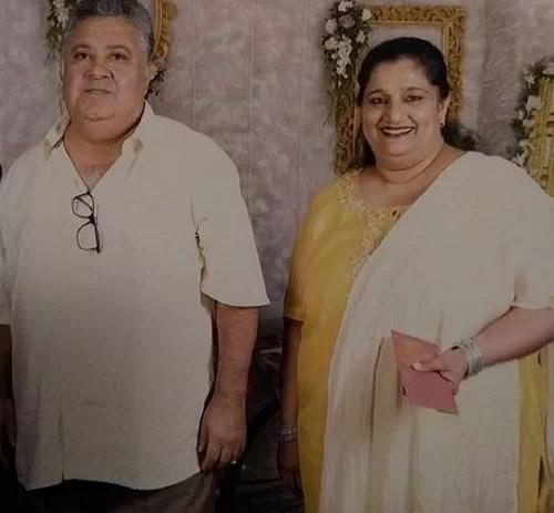 Seema Pahwa With Her Husband