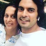 Gashmeer Mahajani With His Sister