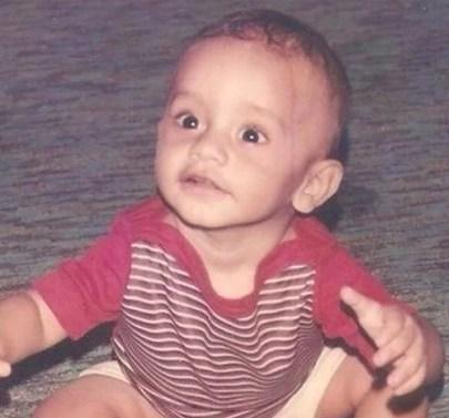Rahul Vaidya's Childhood Picture