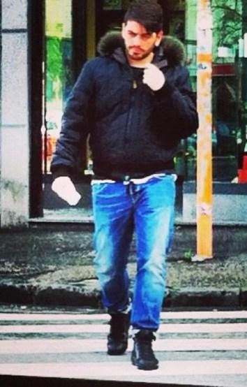 Diego Sinagra walking