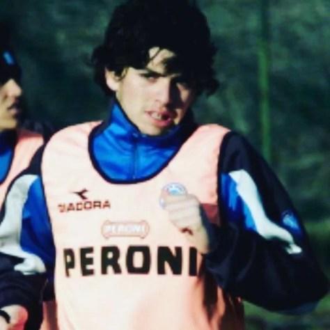 Diego Sinagra, a teenage football player