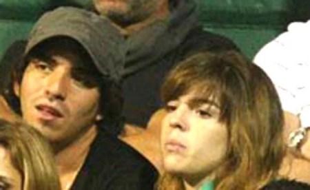Dalma Maradona and Fernando Molina