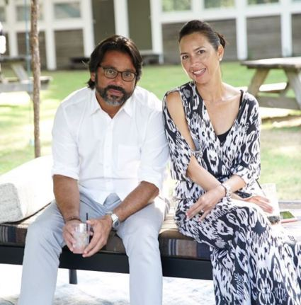 Neelam Kothari's brother and sister-in-law