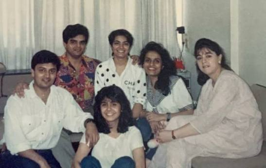 Atul Khatri in his young days