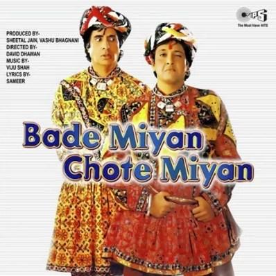 Poster of 'Bade Miyan Chote Miyan'