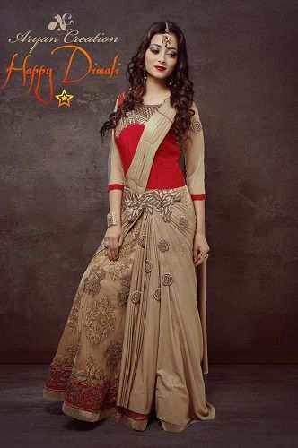 Afreen Alvi in a Print Advertisement for a Clothing Brand