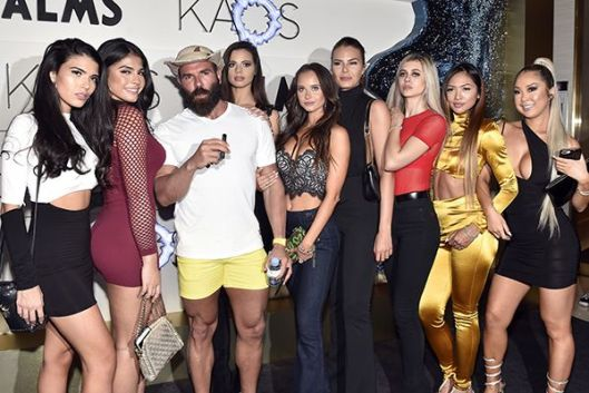 Dan Bilzerian with his Girlfriends