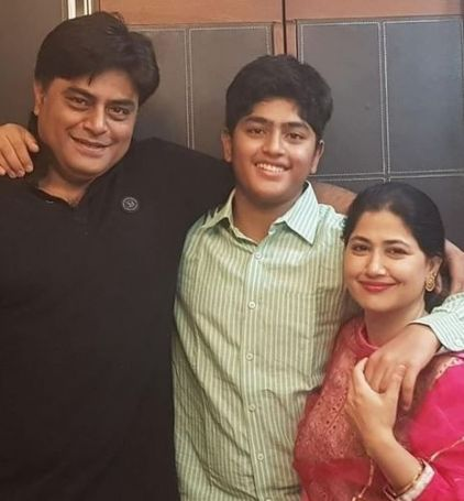 Tasneem Khan's parents and brother