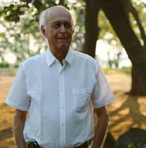 Hansal Mehta's father